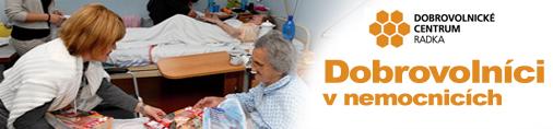 Dobrovolníci v nemocnicích